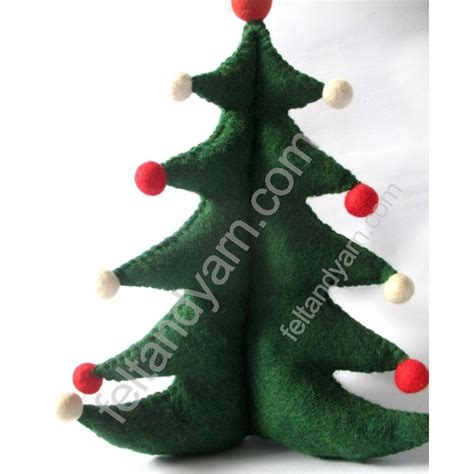 felt christmas tree handmade in nepal