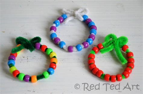 simple christmas crafts for preschoolers red ted art s blog