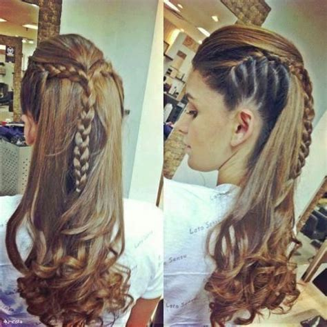 cool braids for hair cool braid hate the curly ends but the braid is amazing