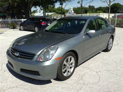 how to sell used cars 2005 infiniti g parking system sell used 2005 infiniti g35 base sedan 4 door 3 5l in clearwater florida united states for us