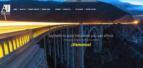 Alliance United Auto Insurance Login   Make a Payment