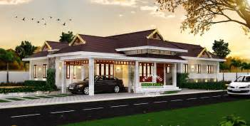 Kerala Home Design Single Story elegant traditional kerala house home design