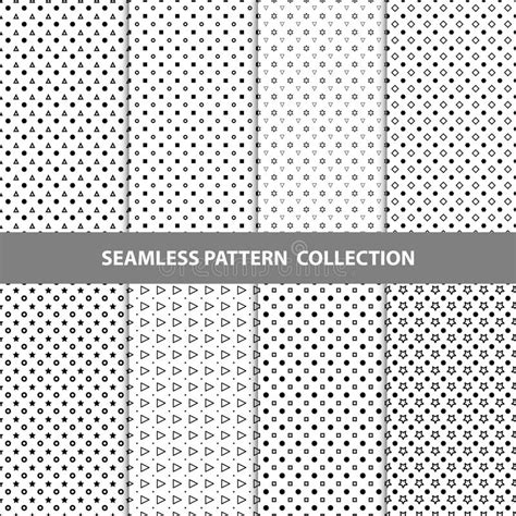 seamless pattern collection vector abstract geometric seamless pattern design