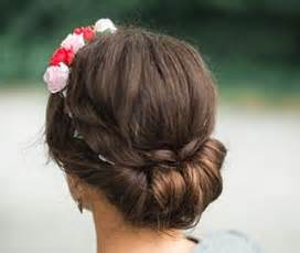 hairstyles for your dirndl look: braided beauty