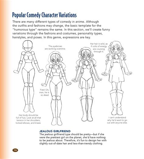 The Master Guide To Drawing Anime How To Draw Original Characters From Simple Templates By Sketch Style Guide Template