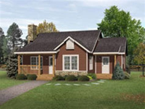 one story bungalow house plans small modern one story house plans