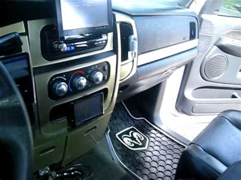 dodge ram  alpine system youtube