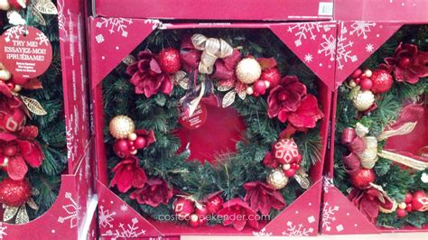 kirkland signature christmas tree kirkland signature 32 inch decorated wreath costco weekender