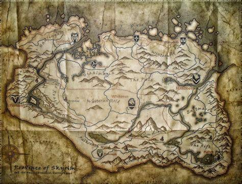 map of skyrim skyrim map wallpaper wallpapersafari