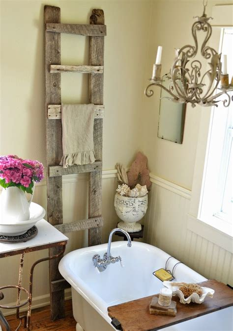 bathtub decoration 28 lovely and inspiring shabby chic bathroom d 233 cor ideas