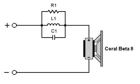Crossover Sigma coral beta 8 fullrange loudspeaker measurements data and information range