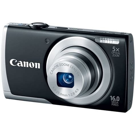 canon powershot digital canon powershot a2500 digital black 8253b001 b h