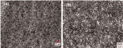 treated steel microstructure of the aisi 4340 steel a nonheat treated