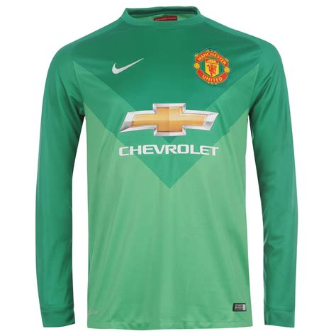 Jersey Manchester United Goalkeeper 2015 16 Hijau 1 nike manchester united mens home goalkeeper jersey 2014