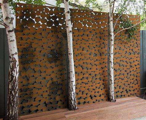 garden metal wall transform your garden with metal artwork decor design