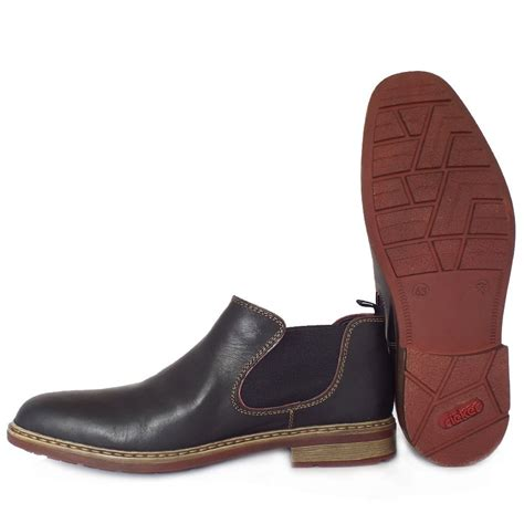 mens pull on winter boots rieker banbury b1282 00 s pull on winter boots in