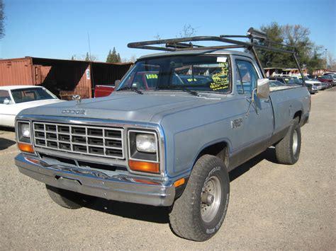 1984 dodge truck 1984 dodge ram 350 prospector for sale stk r5974