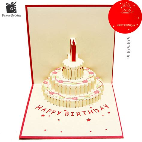 Custom Birthday Cards Online Get Cheap Custom Birthday Cards Aliexpress Com