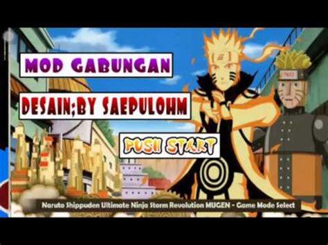 game naruto senki mod indonesia naruto senki mod 2016 youtube