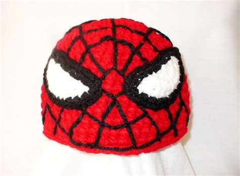 pattern for crochet spiderman hat spiderman crochet hat halloween spiderman costume hat