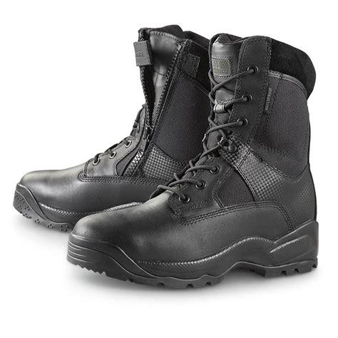5 11 Tactical Boots 8 Black s 5 11 tactical 174 8 quot waterproof side zip boots