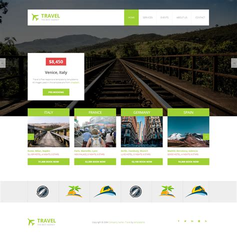 bootstrap themes travel free travel bootstrap themesbootstrap themes