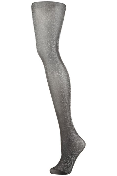 patterned tights topshop topshop lurex tights in black lyst