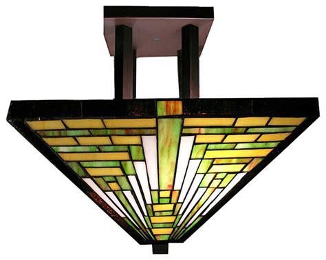 Frank Lloyd Wright Wall Sconces Tiffany Style Frank Lloyd Wright Mission Ceiling Lamp