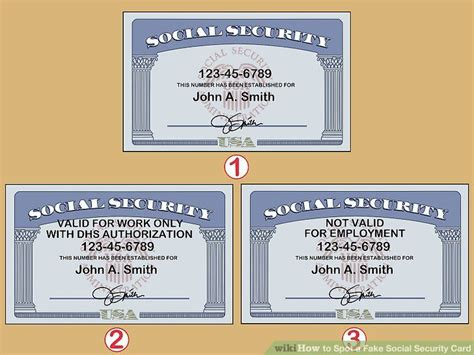 spot  fake social security card lottery numbers card