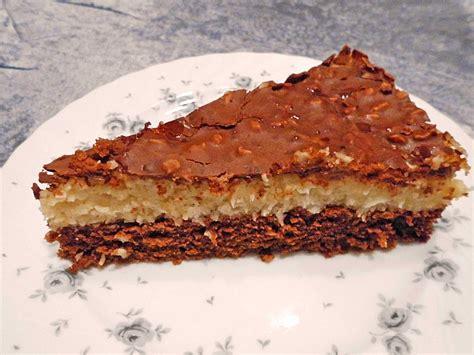 kuchen mit schokolade und kokos kuchen mit kokos f 252 llung rezepte chefkoch de