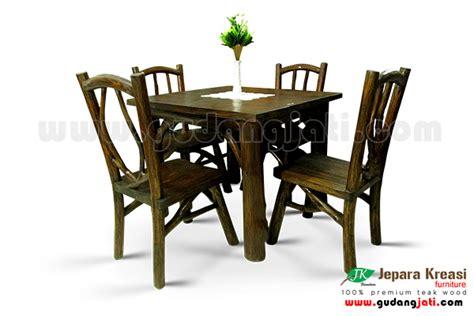 Meja Kayu Akasia meja makan kalaoa 4k jepara kreasi furniture