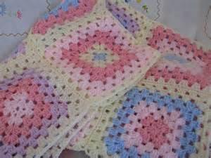 shortbread crochet baby blanket