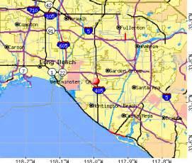map of westminster california westminster california ca 92683 profile population