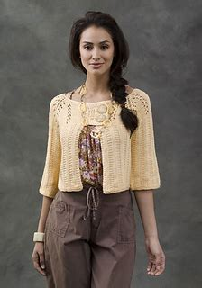 Zera Crop Cardi ravelry new orleans cardi pattern by beth temple