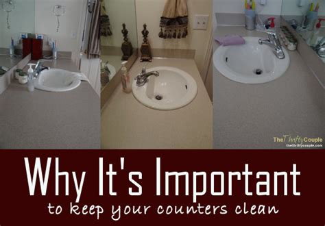Keep Bathroom Counter Clean Be Intentional Challenge 7 Clean Your Bathroom Counters