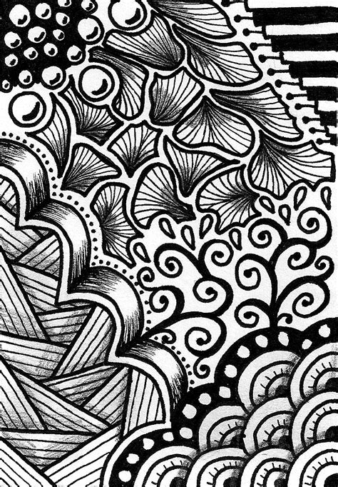 pattern art simple creative crafting how to zen doodle