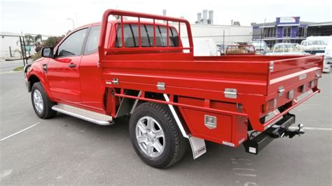 Ultimate Floor Plans ranger px extra cab steel tray aluminium auto