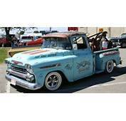 1959 Chevy Apache Pickup Rat Rod Truck