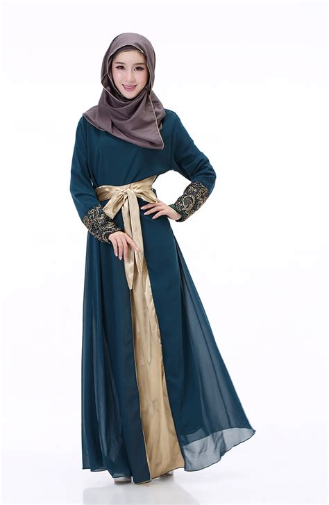 long dress muslim women clothing aliexpress com buy fashion chiffon muslim abaya long