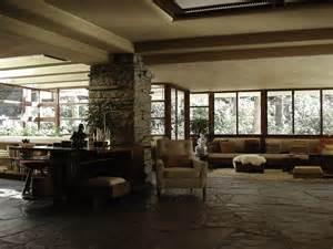 Fallingwater Interior Frank Lloyd Wright Organic Architecture Blog Arturo Alvarez