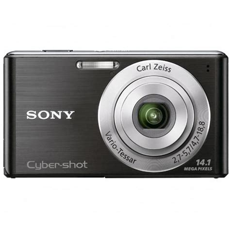 Kamera Sony Cyber Carl Zeiss sony dsc w530 b cyber dsc w530 digital compact 14 1 mp 4 x optical zoom