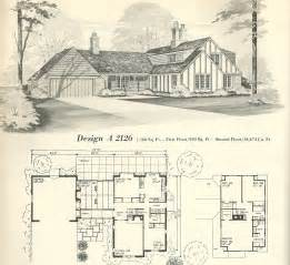 Vintage House Plans 2126 Antique Alter Ego Large Vintage House Plans