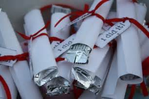 Graduation Favors To Make by Graduation Diploma Favors B Lovely Events