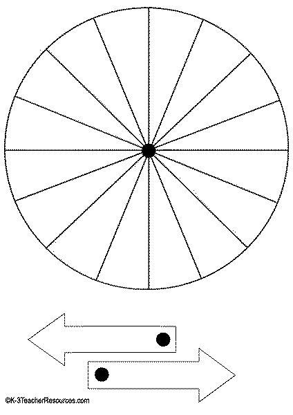 printable spinner templates pin templates for spinner on pinterest