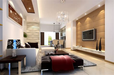 interior livingroom 3d interior living room tv wall 3d house free
