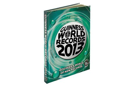 guinness world records 2013 winter hobby ideas 187 heading for the exits
