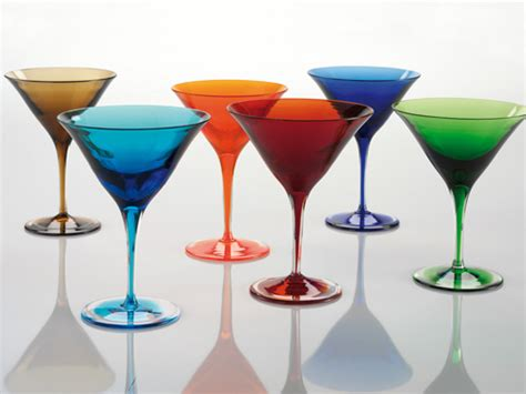 bicchieri martini bicchiere martini set 6 bicchieri martini