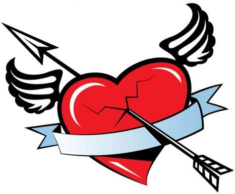 imagenes de corazones con flechas bandera roja del coraz 243 n con alas con la flecha de