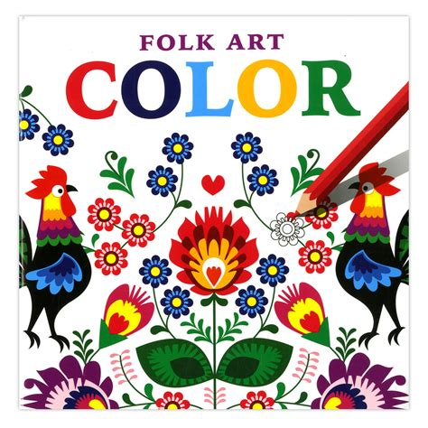 folk colors an folk coloring pages