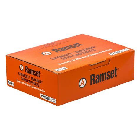 Chemical Ramset bunnings ramset ramset m10 maxima masonry chemical